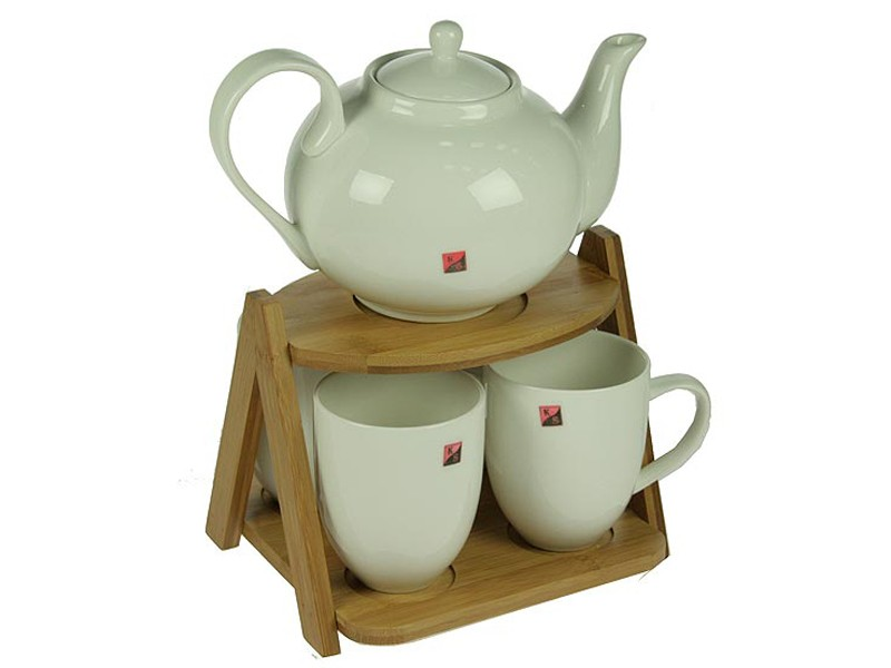 Подарочный чайный набор на подставке