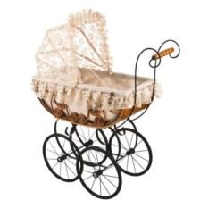 Плетеная кукольная коляска Leiteng Artwares