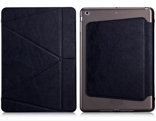 Кожаный чехол The Core Smart Case Black для Apple iPad Air 2