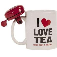 Кружка со звонком I Love Tea