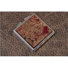 Карманное зеркальце (красный шах)