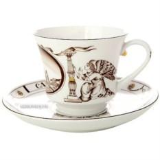 Чашка с блюдцем Исаакиевский собор (фарфор)