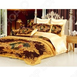 Комплект постельного белья Жардин. 1,5-спальный
