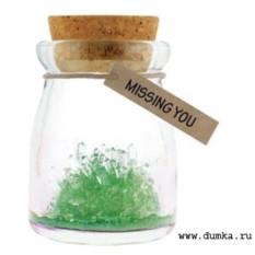 Зеленый кристалл желаний Всего хорошего