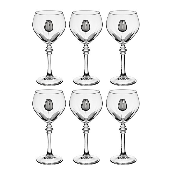 Набор бокалов для вина из 6 шт.Бутон