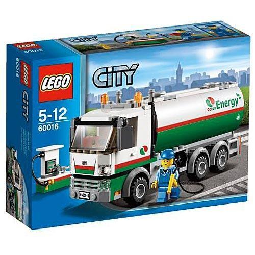 Конструктор Lego City Бензовоз