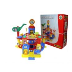 Детская игрушка Паркинг 4-уровневый с автомобилями