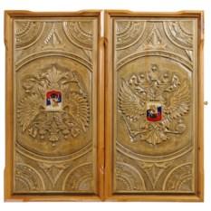 Нарды ручной работы Герб России