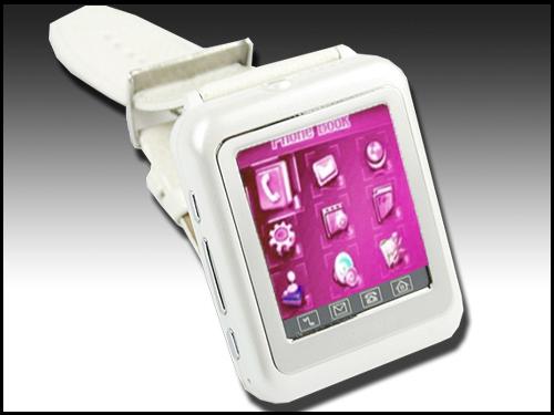 Часы-мобильный телефон Watchtech V4 White