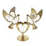 Фигурка декоративная «Голуби с сердцем»