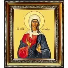 Икона на холсте Таисия Египетская Святая блаженная