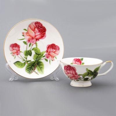 Сервиз чайный на 6 персон «Букет»