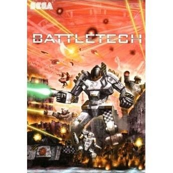 Картридж для Sega - игра BattleTech