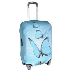 Чехол для чемодана Бабочки