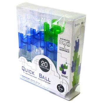 Конструктор Quick Ball, 20 деталей