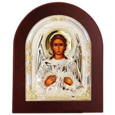 Ангел Хранитель. Икона в серебряном окладе.
