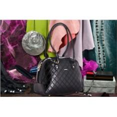 Черная сумка коллекции Nino Fascino
