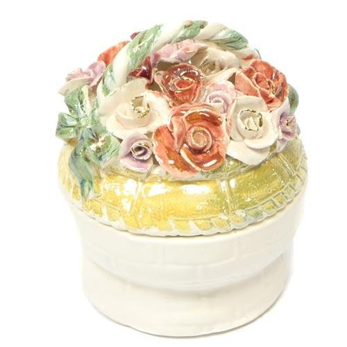 Шкатулка Корзина роз