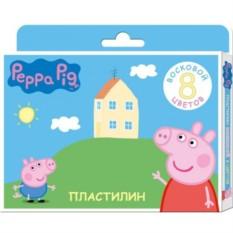Восковый пластилин «Свинка Пеппа» 8 цветов