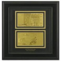 Картина с банкнотами (Евро)