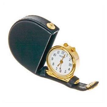 Часы-будильник «Миниклаб» дорожные черные