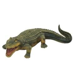 Декоративная садовая фигура Крокодил №1
