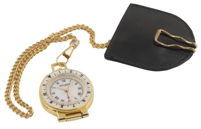 Карманные часы с будильником Meridien