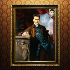 Исторический портрет мужчины