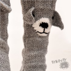 Носки Собачки ручной работы