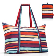 Складная сумка Mini maxi travelbag artist stripes