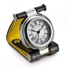 Часы путешественника в кожаном чехле