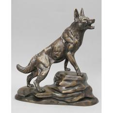 Статуэтка из бронзы Virtus «Волк»