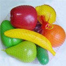 Набор пластмассовых игрушек Фрукты и овощи