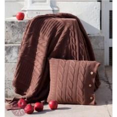 Плед Imperio 233 размер 200x220 см (цвет: коричневая замша)