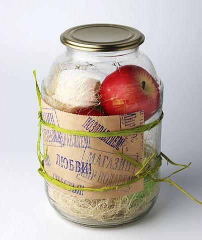Набор «Яблочные консервы»