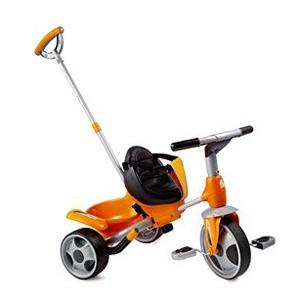 Городской трициклет оранжевый