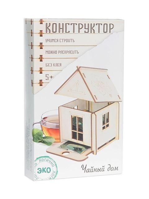Деревянный конструктор Чайный дом