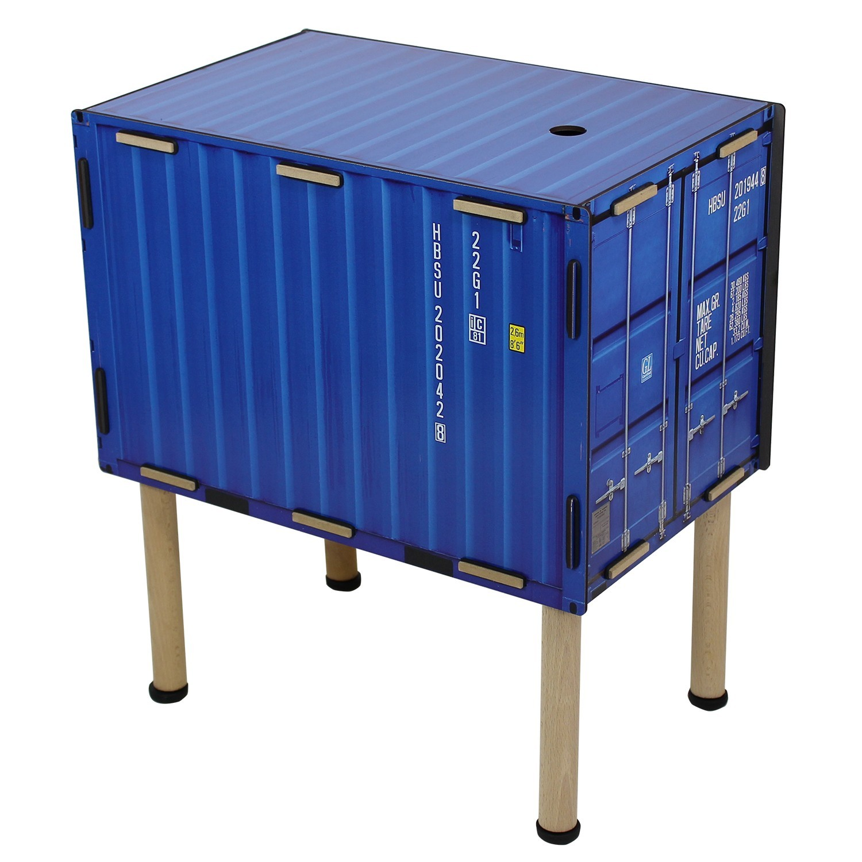 Синий стол Контейнер