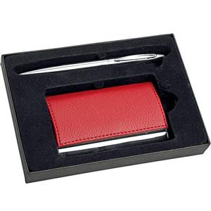 Подарочный набор красного цвета