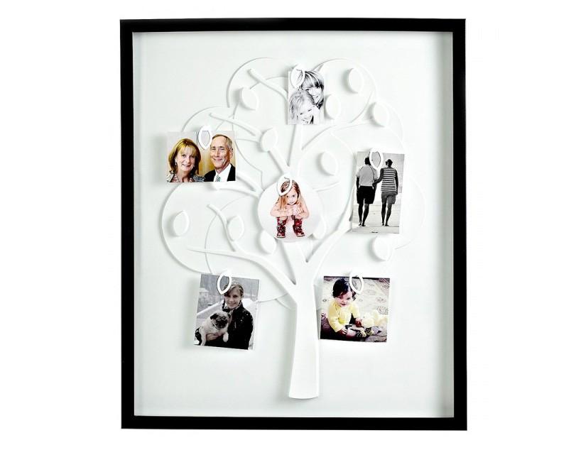 Рамка для фотографий Family tree, черная