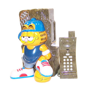 Телефон «Гарфилд-копилка»