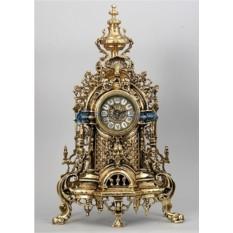 Часы из бронзы Валенсия 58х34 см, цвет золотой