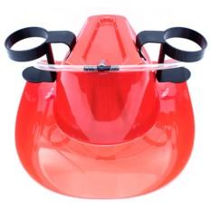Каска с подставками под банки Пивная шляпа