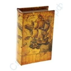 Книга-сейф с ключом Морской круиз