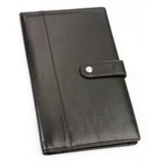 Черное портмоне для авиабилетов и кредитных карт