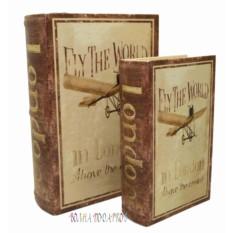 Набор из двух книг шкатулок Аэроплан
