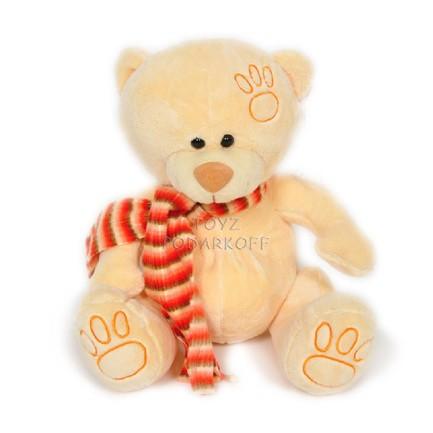 """Медведь """"Топтыжкин"""" желтый Мягкие игрушки купить в Подарки.ру"""