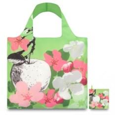 Складная сумка LOQI Fashion Prima Blossom