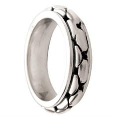 Кольцо из олова Snake