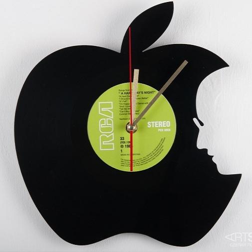 Часы из виниловой пластинки  Гениально!